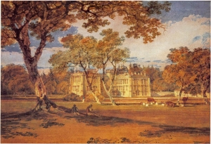 Towneley Hall by J.M.W. Turner, R.A.